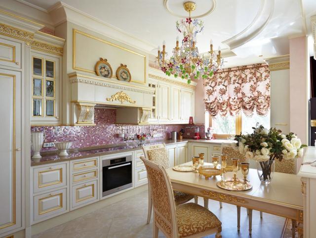 Современные шторы на кухню 2017−2018 гг.: фото новинок