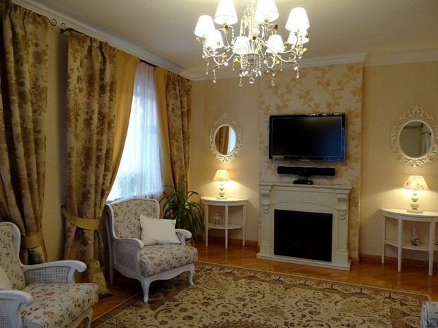 Шторы в гостиную в современном стиле: фото оригинальных идей