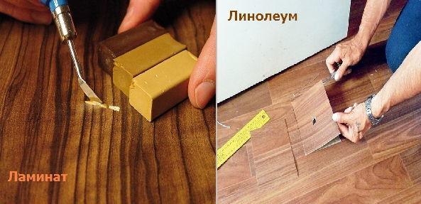 Что лучше − ламинат или линолеум, сравниваем параметры