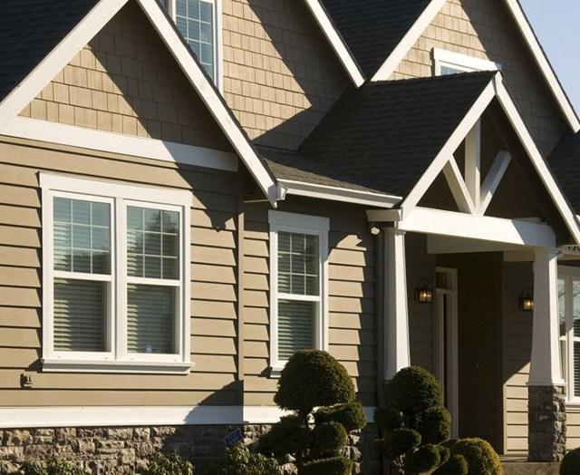 Отделка фасада частного дома: обзор современных материалов