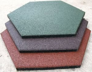 Резиновая плитка для дорожек на даче: цена, виды и фото-примеры