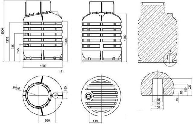 Пластиковый кессон для скважины: как выбрать и установить