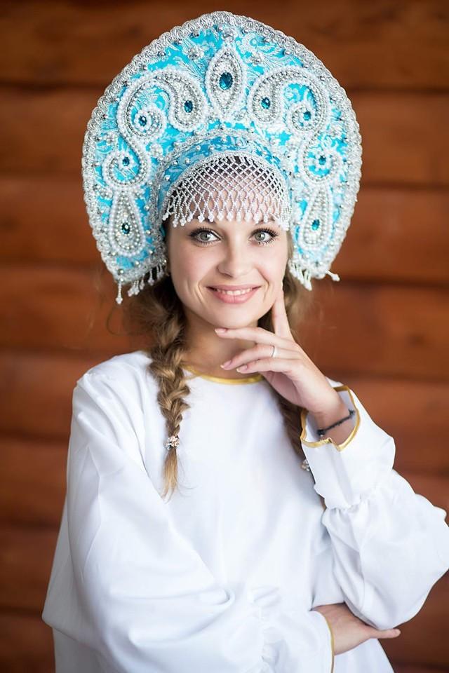 Русский кокошник своими руками: фото и видеоинструкции