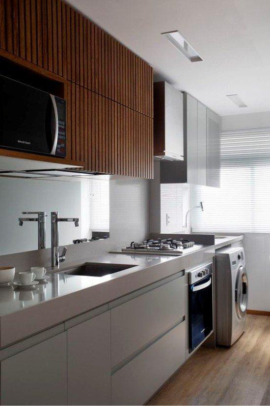Кухни в стиле хай-тек, дизайн, фото, идеи оформления, отделка, мебель и аксессуары