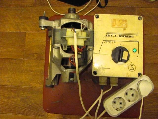 Самоделки из двигателя от стиральной машины: 10 полезных идей