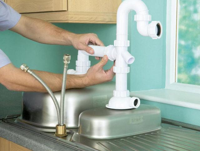Сифон для раковины на кухню: секреты выбора и правильный монтаж