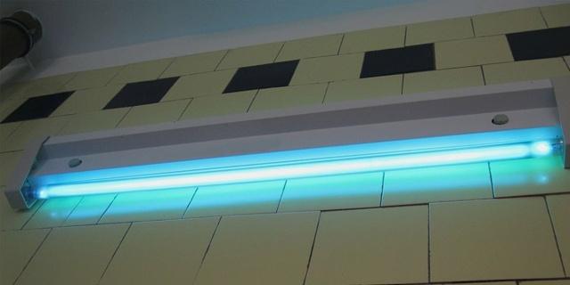 Ультрафиолетовая лампа для домашнего использования