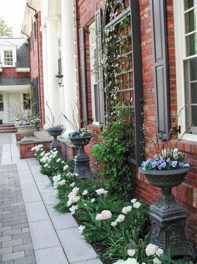 Клумбы во дворе частного дома: фото и секреты оформления