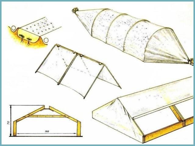 Парник для огурцов своими руками: фото и инструкции