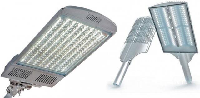 Светодиодный уличный светильник: виды, особенности, конструкции, размещение