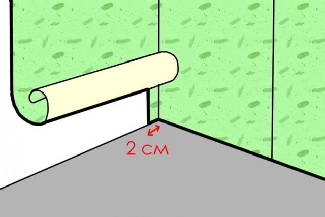Поклейка виниловых обоев на флизелиновой основе