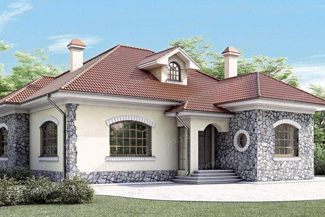 Проекты одноэтажных домов с тремя спальнями - делаем правильно!