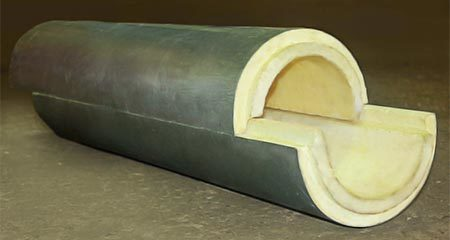 Утеплитель для труб: виды изоляции и использование