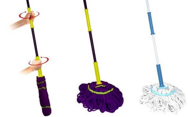 Швабра для мытья пола с отжимом: виды, особенности, как выбрать, где купить.