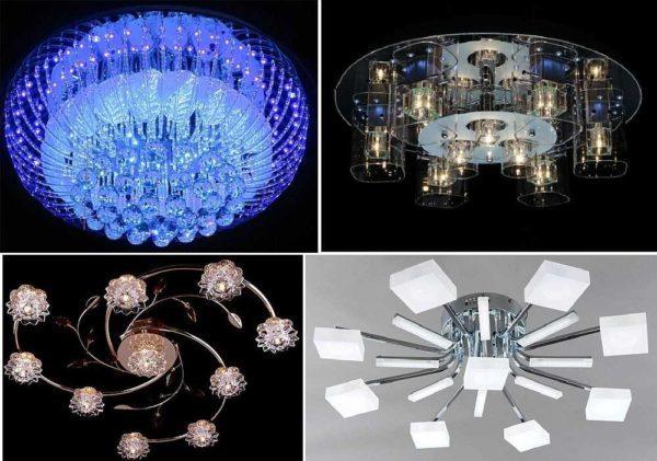 Светодиодные потолочные люстры для дома - как выбрать?