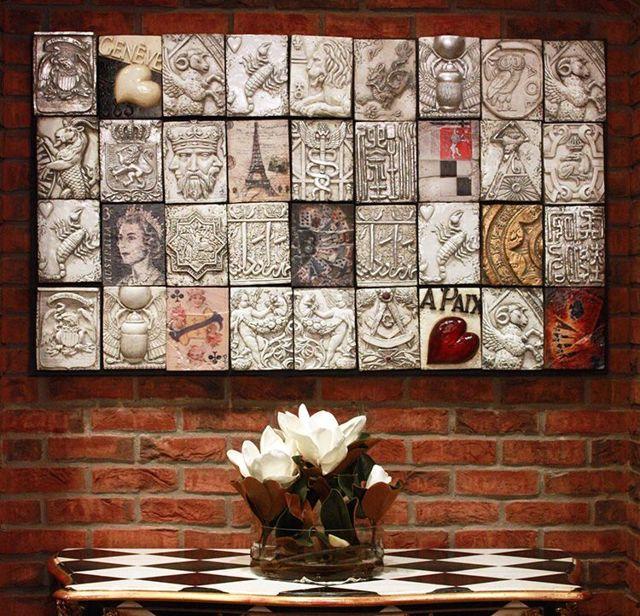 Панно на стену: варианты исполнения, материалы, идеи
