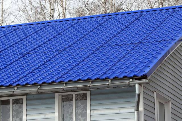 Размеры листа металлочерепицы для крыши: цена и выбор