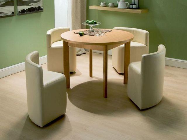 Кухонные столы и стулья для маленькой кухни: материалы, механизмы, фото