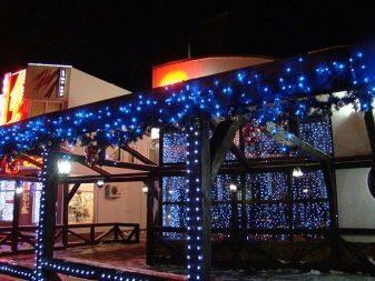 Уличные морозостойкие светодиодные гирлянды: критерии выбора