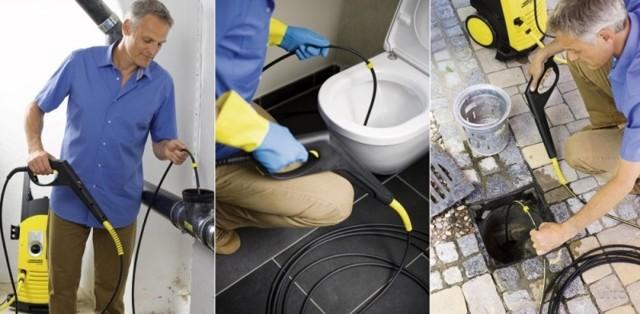 Трос для прочистки канализационных труб: виды, как пользоваться