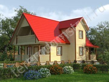 Проекты домов из бруса для постоянного проживания: преимущества