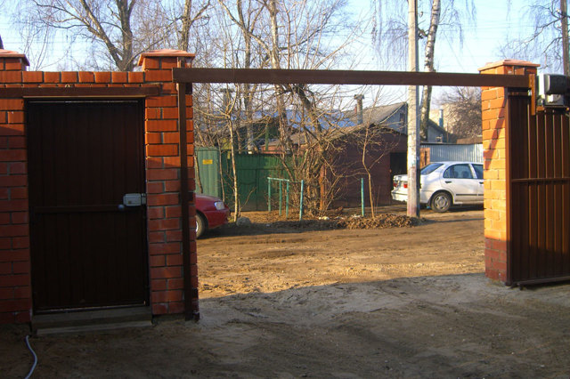Откатные ворота своими руками: чертежи, схемы, эскизы конструкции