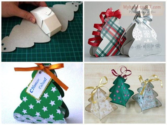 Коробки своими руками на Новый год: идеи, фото, процесс создания