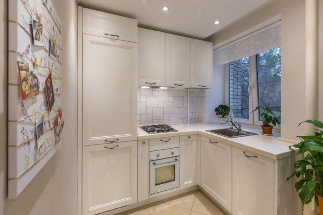 Маленькая кухня в хрущевке: дизайн, фото
