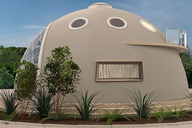 Купольные дома: проекты и цены, фото-примеры, строительство