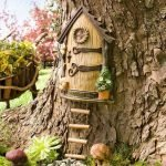 Поделка декоративный домик из природных материалов своими руками