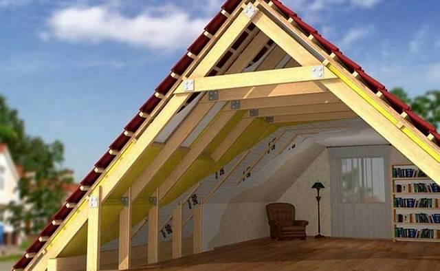 Утепление мансарды изнутри, если крыша уже покрыта: инструкция