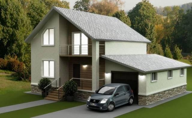 План одноэтажного дома: проекты с цоколем, гаражом, мансардой