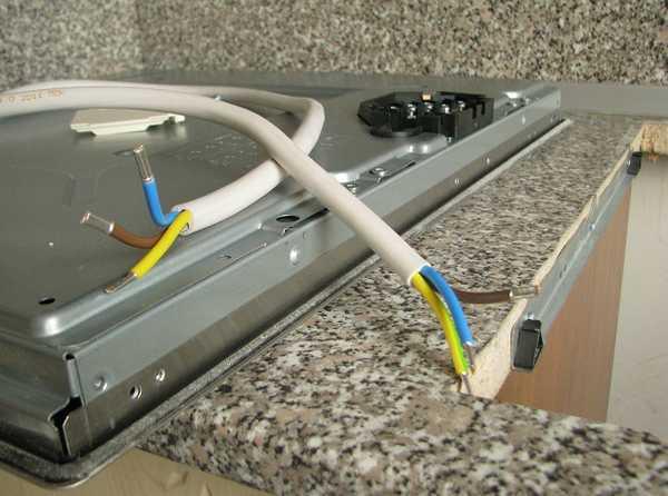 Подключение варочной панели к электросети самостоятельно
