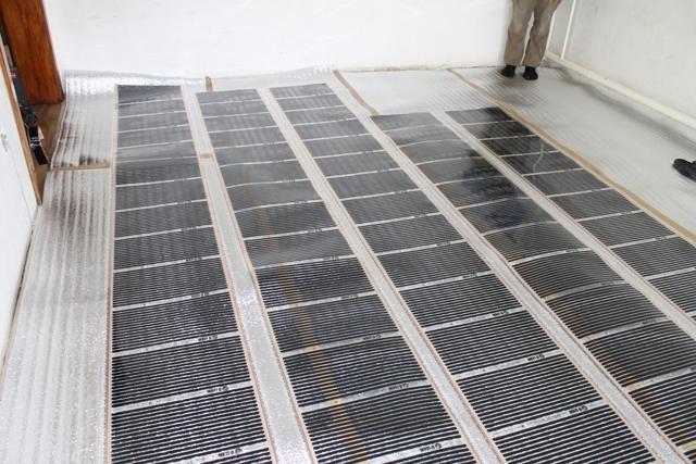 Электрические теплые полы под линолеум - инструкция