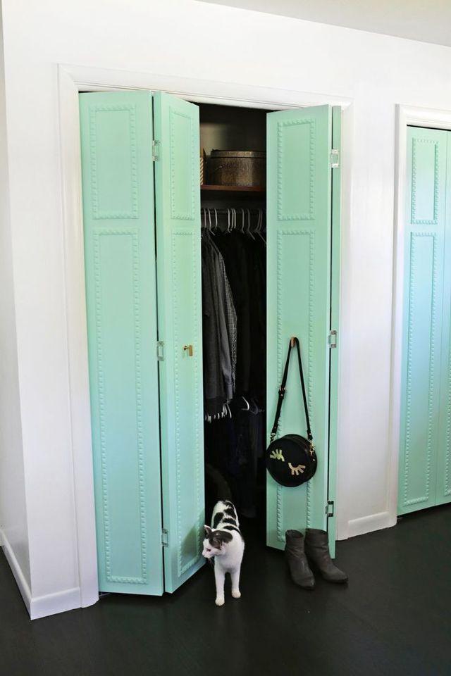 Межкомнатные двери гармошка: фото и цены, выбор и монтаж