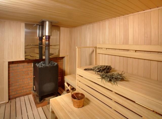 Печи для бани на дровах с баком для воды: виды и монтаж