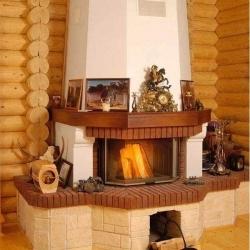 Камин из картона своими руками пошаговая инструкция