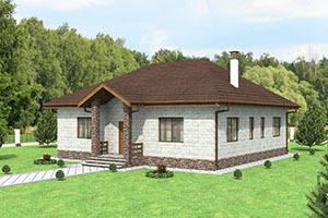 Планировка дома 8 на 8: двухэтажный проект загородного коттеджа