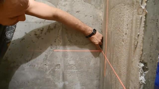 Установка маяков для штукатурки стен своими руками