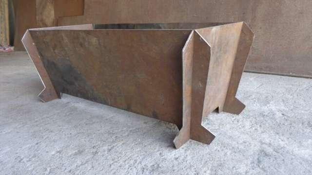 Мангалы из металла своими руками: размеры, фото, чертежи