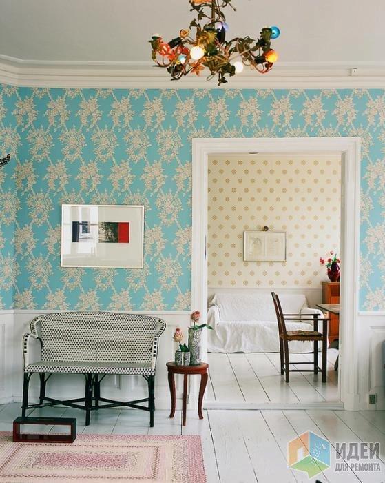 Цвет тиффани в интерьере: фото, советы и рекомендации