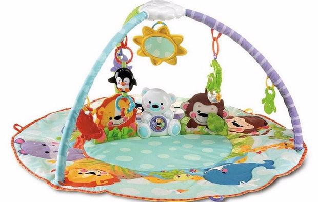 Развивающий коврик для детей: функции, разновидности, выбор