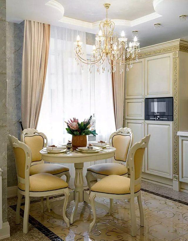 Мебель в гостиную в классическом стиле: советы дизайнеров