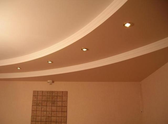 Потолки для гостиной из гипсокартона: фото-идеи и нюансы монтажа