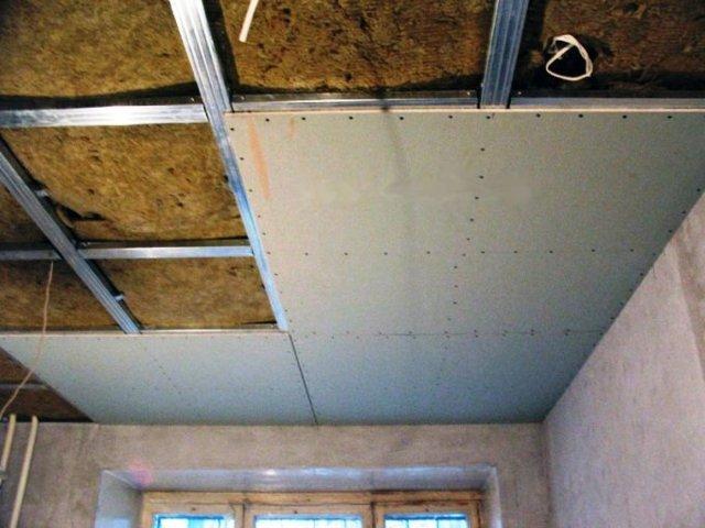 Шумоизоляция потолка в квартире своими руками: нюансы монтажа
