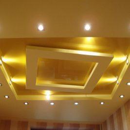 Светодиодные потолочные светильники для натяжных потолков