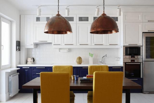 Обои для кухни: фото современных идей 2017-2018, критерии выбора