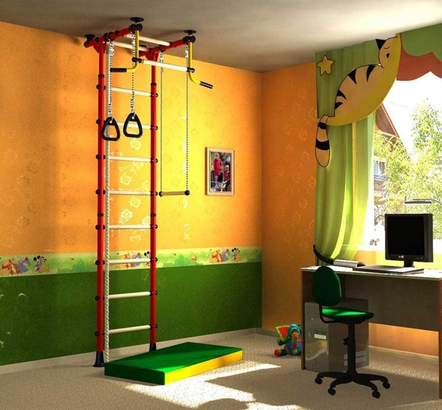 Шведская стенка для детей в квартиру: как правильно выбрать