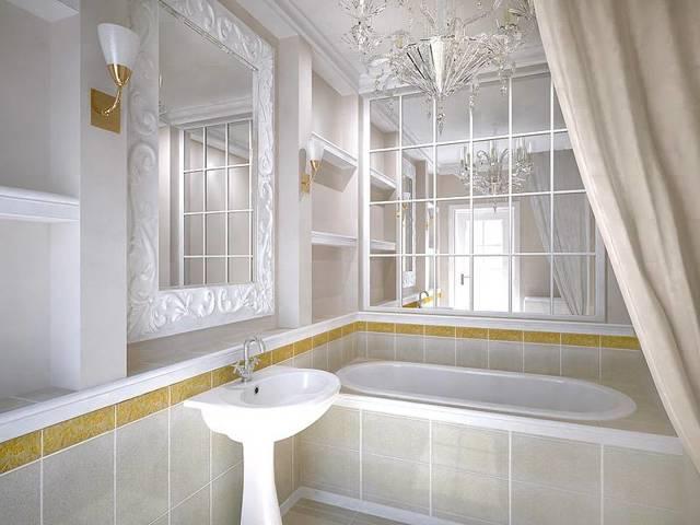 Плинтус для ванной: виды, характеристики, монтаж