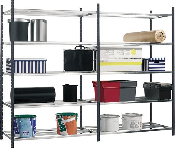 Стеллажи сборные металлические: конструкции, виды, изготовление